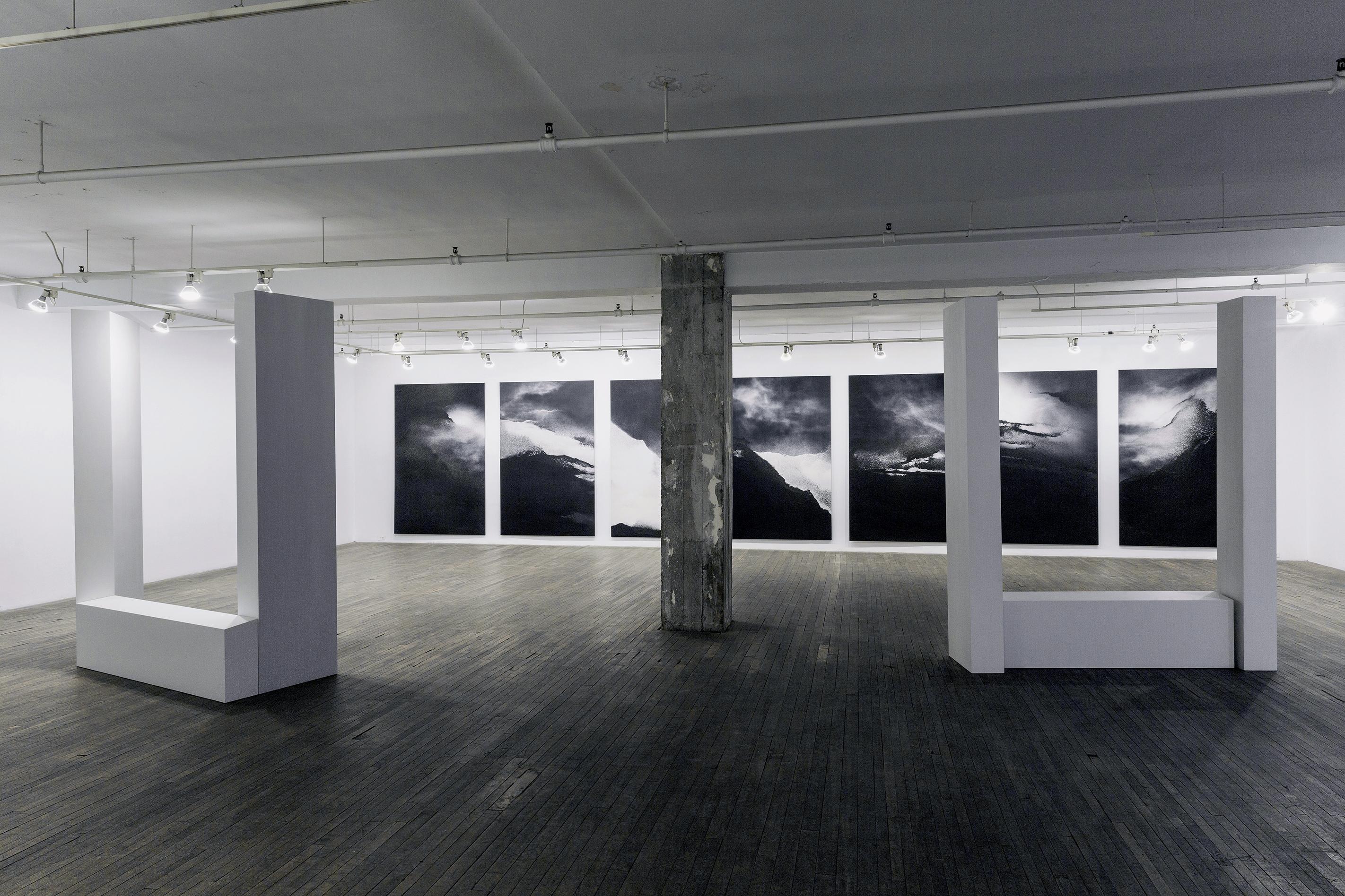Terre de sable, 2014, Galerie Bellemare