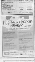 Festival de poésie de Montréal
