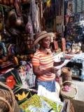 Mme Simone, au marché en fer de Port-au-Prince